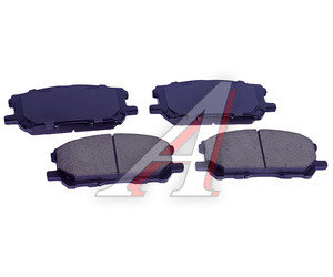 Колодки тормозные LEXUS RX300 (03-) передние (4шт.) SANGSIN SP1456, GDB3338