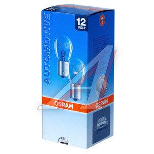 Лампа 12V P21/4W BAZ15d двухконтактная OSRAM 7225, O-7225, А12-21+4