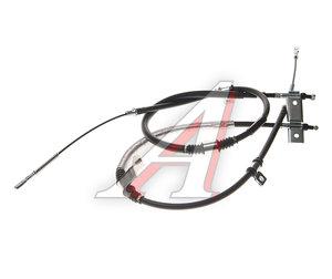 Трос стояночного тормоза SSANGYONG Rexton (02-) (662L,D27) задний (2шт.) (дисковые тормоза) OE 4901008102