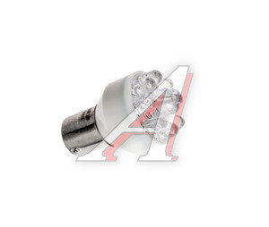 Лампа светодиодная 24VхR21W (Ba15s) белая 9 диодов МАЯК 24S25-W/9LED/24T25-W/9LED,