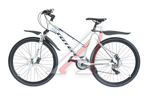 "Велосипед 26"" 21-ск. дисковые тормоза (AL-рама) белый SPARK TOTEM T15B210 LADY A, T15B210 LADY,"