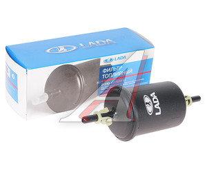 Фильтр топливный ВАЗ-2123i,1118i тонкой очистки (штуцер c клипсами) пластик в упаковке АвтоВАЗ 2123-1117010-81 GB-332, 21230111701081, 2123-1117010