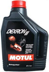 Масло трансмиссионное ATF DEXRON III КПП автомат 2л MOTUL MOTUL, 100318