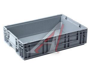 Ящик полимерный многооборотный 594х396х147мм серый IPLAST IP-390543, 12.504F.91