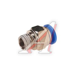 """Фитинг для пластиковых трубок 1/4"""" 10мм с наружной резьбой ROCK FORCE RF-SPC10-02"""