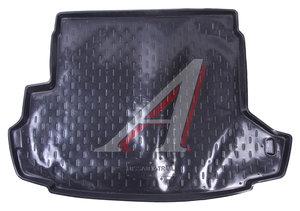 Коврик багажника NISSAN X-Trail (13-) пластик ТП KAZ_nXnew13