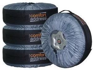 Чехол для сезонного хранения колес BAG-016 R13-R20 (комплект 4шт.) COMFORT ADDRESS BAG-016
