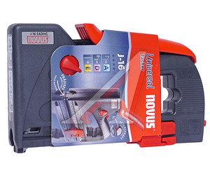 Степлер пластиковый 6-14мм (0.75-1.25мм) для работ со скобами и гвоздями профессиональный NOVUS NOVUS J16EADHG, 030-0390