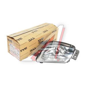 Фара противотуманная PEUGEOT 308 (07-) правая (уценка) TYC 19-A681-01-2B, 550-2014R-UE, 6206F0
