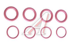 Кольцо ВАЗ-2112 уплотнительное колодца свечного комплект 2112-1003076/78(8шт), 089373, 2112-1003076