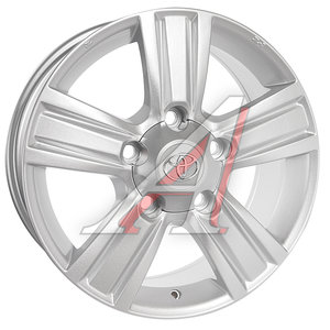 Диск колесный литой TOYOTA LC200 R18 TY117 S REPLICA 5х150 ЕТ60 D-110,1