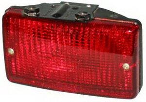 Фонарь противотуманный ГАЗ-310231 красный 12V (кронштейн крепления от рассеивателя) ОСВАР 244.3716-01