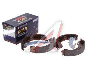Колодки тормозные HYUNDAI Accent (ТАГАЗ) задние барабанные (4шт.) HSB HS0003, GS8678, 58305-25A00