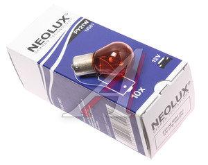 Лампа 12V PY21W одноконтактная Yellow NEOLUX N581, NL-581, А12-21-3