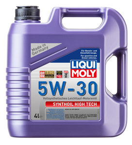 Масло моторное SYNTHOIL HIGH TECH синт.4л LIQUI MOLY LM SAE5W30 9076