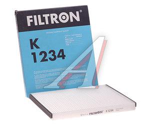 Фильтр воздушный салона CHEVROLET Aveo (06-) (1.2/1.4/1.5/1.6) FILTRON K1234, 93732532