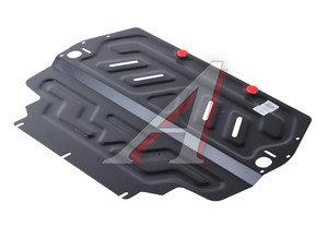Защита картера и КПП VW Golf (03-09),Jetta (05-10) SEAT Leon (05-) SKODA Octavia (04-) АВТОБРОНЯ 111.05107.1,