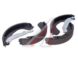 Колодки тормозные OPEL 200х29 задние барабанные (4шт.) TEXTAR 91044800