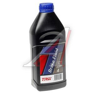 Жидкость тормозная DOT-4 1л TRW PFB401
