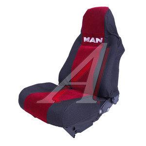 Авточехлы MAN TGX красные MAN TGX Кр