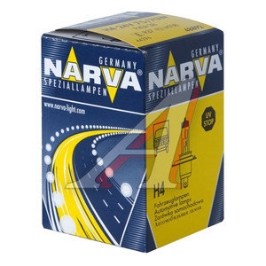 Лампа 24V H4 75/70W P43t NARVA 48892, N-48892, АКГ 24-75-70 (Н4)
