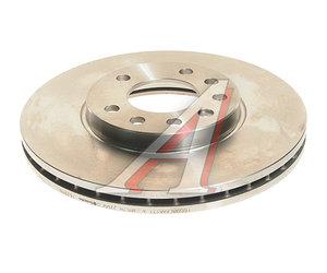 Диск тормозной OPEL Astra H передний (1шт.) BREMBO 09.7629.10, DF4048, 0569066
