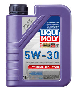 Масло моторное SYNTHOIL HIGH TECH синт.1л LIQUI MOLY LM SAE5W30 9075