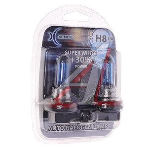 Лампа H8 12V 35W Super White блистер (2шт.) XENITE XENITE H8, 1007047