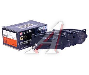 Колодки тормозные KIA Spectra (ИЖ),Clarus,Clarus 2 задние (4шт.) HSB HP1009, GDB3203, 0K9A02628Z
