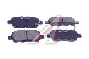 Колодки тормозные NISSAN Murano (03-) INFINITI FX35,FX45 задние (4шт.) HSB HP3007, P56046, 44060-8H3X5