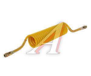 Шланг пневматический витой М22 L=5.5м (желтый) СТАНДАРТ AIR FLEX М22 L=5.5м (желтый) (PE) R, AIR FLEX М22 L=5.5м (желтый),
