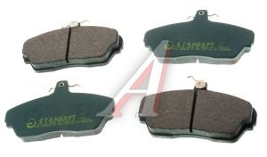 Колодки тормозные ГАЗ-3110,3302 передние (4шт.) G-PART (ОАО ГАЗ) 3302-3501800-01, 3302-3501170
