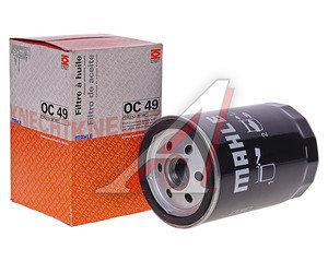 Фильтр масляный BMW 3 (E30),5 (E28,E34) MAHLE OC49, 11421707779