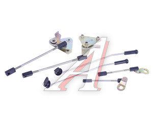 Тяга ГАЗ-3302 привода замка двери передней (левая+правая) комплект 3302-6105070/71/21, 3302-6105070, 71, 21