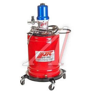 Нагнетатель смазки (солидолонагнетатель) пневматический 20л 30г/ход (вязкость 00-2) передвижной JTC JTC-1034