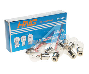 Лампа 24V P21W Ba15s HNG А24-21-3, HNG-24210