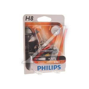 Лампа 12V H8 35W PGJ19-1 блистер (1шт.) PHILIPS 12360B1, P-12360бл