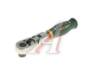 """Ключ трещотка 1/4"""" 20 зубьев 125мм шарнирный для вставок FORCE F-802202F"""