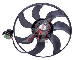 Мотор охлаждения радиатора CHEVROLET Cruze (09-) (1.6/1.8),Orlando (11-) (с крыльчаткой) МКПП OE 13335181