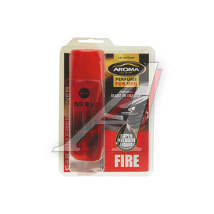 Ароматизатор спрей (огонь) 50мл Car pump spray AROMA 63167, Aroma Car pump\Fire