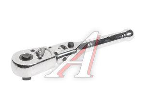 """Ключ трещотка 3/8"""" 45 зубьев 162мм шарнирный с фиксацией металлическая рукоятка JTC JTC-3015"""
