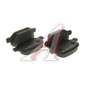 Колодки тормозные FIAT Linea (07-) задние (4шт.) HSB HP9940, GDB1396, 77362276