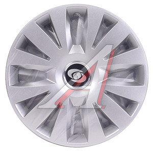 Колпак колеса R-15 декоративный серый комплект 4шт. 324 324 R-15