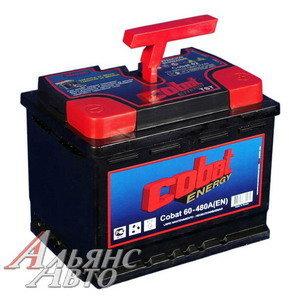 Аккумулятор COBAT 60А/ч обратная полярность 6СТ60