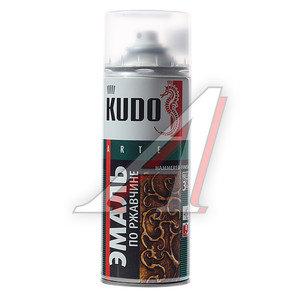 Краска по ржавчине черно-бронзовая аэрозоль 520мл KUDO KUDO KU-3009, KU-3009