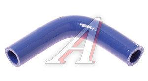 Патрубок угловой синий силикон (d=20,L=100х100) Патрубок D=20*