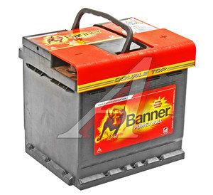 Аккумулятор BANNER Power Bull 50А/ч обратная полярность 6СТ50 P50 03, 83527