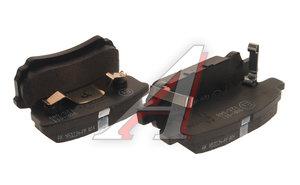 Колодки тормозные MITSUBISHI Galant (08-),Lancer (07-14) задние (4шт.) OE 4605A558, 4605A479