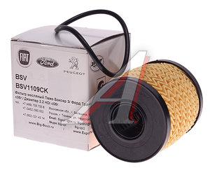Фильтр масляный PEUGEOT Boxer CITROEN C2-C8,Jumper BASBUG BSV1109CK, OX339/2D, 1109.CK