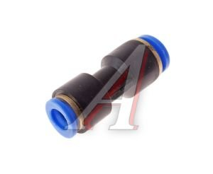Соединитель трубки ПВХ,полиамид d=8мм-10мм прямой PG10/08, АТ-362